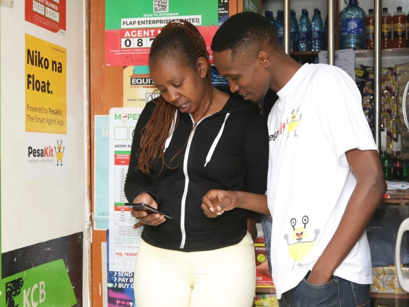 How do we protect mobile money agents from COVID-19 as we turn to them for digital finance?